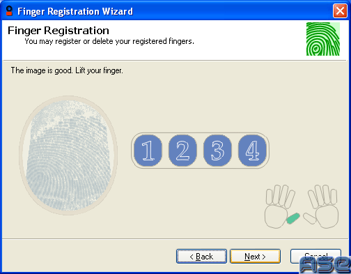 Finger Registering